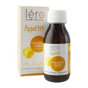 Sirop Appetit Tonus 125Ml Gout Orange Lero