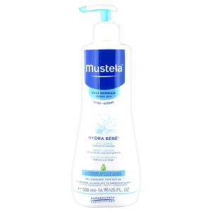 Mustela Hydra Bebe Lait Corps Peaux Normales 500Ml