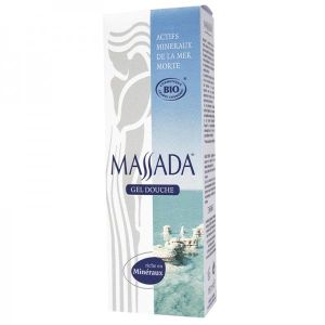 Massada - Massada : Gel douche tonifiant Bio - 150 ml