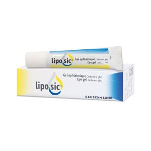 LIPOSIC (carbomère 980) gel ophtalmique 10 g en tube
