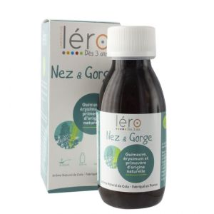 Sirop Nez Gorge 125Ml Gout Cola Lero