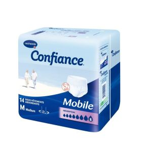 Hartmann Slip Confiance Mobile Absorption 8 Taille Medium - Sachet 14