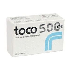 TOCO 500 mg capsules molles B/30