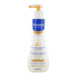 Mustela Gel Lavant Nourrissant Au Cold Cream Peaux Seches 300Ml
