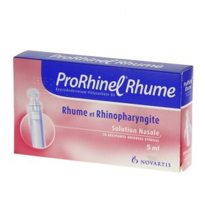 PRORHINEL RHUM SOLUTION NASALE B/20