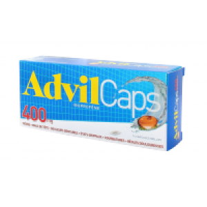 ADVILCAPS 400 mg capsule molle B/14