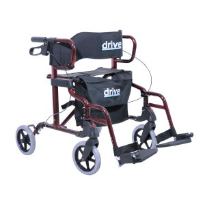 ROLLATOR DIAMOND DELUXE AVEC FONCTION FAUTEUIL - O7424