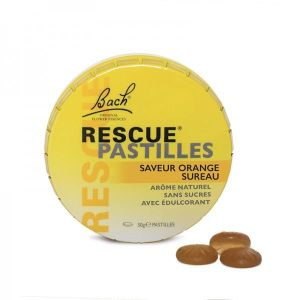 Rescue pastilles orange - Boite 50 g