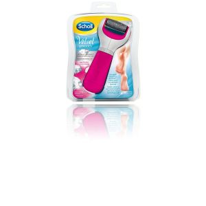 Scholl Velvet Râpe Electrique Anti-callosité Smooth Express Cristaux Diamants ROSE