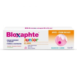 Bloxaphte Gel Junior Bubble Gum 30Mois Et Plus 15Ml