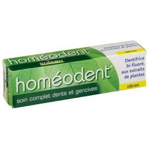 HOMEODENT SOIN COMPLET DENTS ET GENCIVES Citron Pâte Dentifrice 75ML