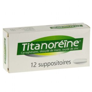 TITANOREINE SUPPOSITOIRE B/12