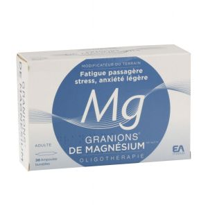 GRANIONS DE MAGNESIUM 3,82 MG/2 ML SOLUTION BUVABLE B/30
