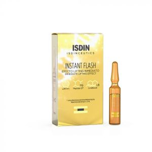 Ampoule Instant Flash 2ml Effet lifting immediat Isdin