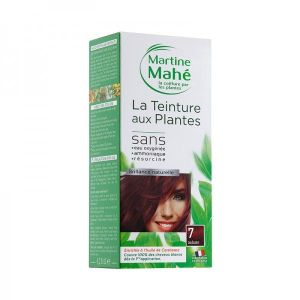 Martine Mahe - Teinture aux Plantes 3 applications 125 ml N°7 Auburn