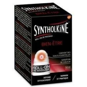 Syntholkine tensions musculaires roll-on de massage 50ml