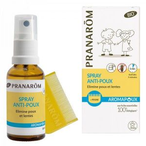 Aromapoux Spray anti-poux 30 ml + Peigne