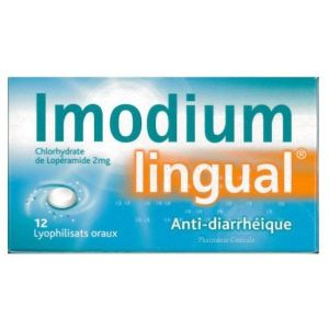 IMODIUMLINGUAL 2 MG LYOPHILISAT ORAL B/12