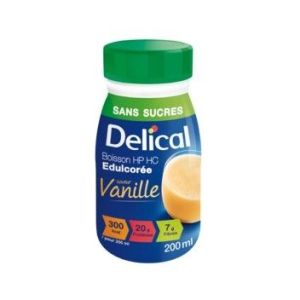 Delical boisson hp hc sans sucres vanille pack/4x200ml