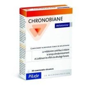 Chronobiane Mélatonine - 1 mg 30 comprimés sécables