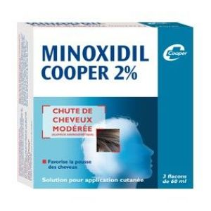 MINOXIDIL COOPER 2 % SOLUTION POUR APPLICATION CUTANEE EN FLACON B/3
