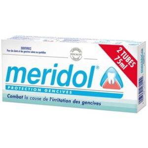 Meridol Dentifrice Protection Gencives Lot de 2 x 75ml