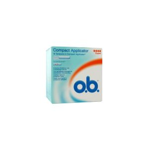 OB TAMPON COMPACT APPLICATOR SUPER BOITE DE 16