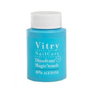 Vitry - Dissolvant Vernis à ongles Magic'touch 0% Acétone - 75 ml