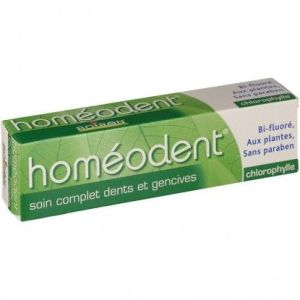 HOMEODENT SOIN COMPLET DENTS ET GENCIVES Chlorophylle Pâte Dentifrice 75ML