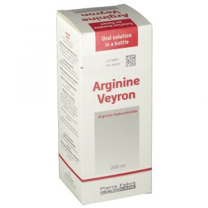 ARGININE VEYRON solution buvable 250 ml en flacon