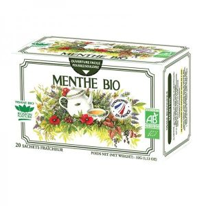 Tisane simple BIO Menthe 20 sachets