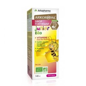 Arkoroyal Sirop Junior Fortifiant Bio 140Ml