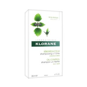 KLORANE SHAMPOOING CHEVEUX GRAS A L'ORTIE BLANCHE 200 ML