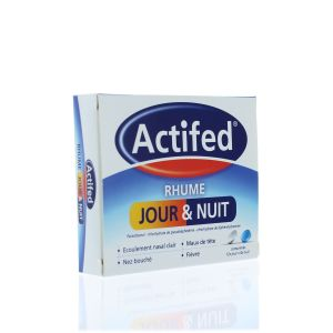 ACTIFED RHUME JOUR ET NUIT COMPRIME B/16