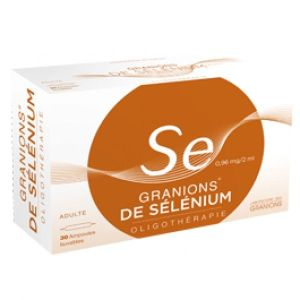 GRANIONS DE SELENIUM 0,96 MG/2 ML SUSPENSION BUVABLE B/30