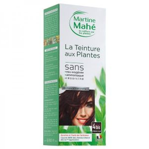Martine Mahe - Teinture aux Plantes 5 applications 250 ml N°4bis Châtain Roux
