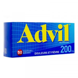 ADVIL 200 MG COMPRIME ENROBE B/30