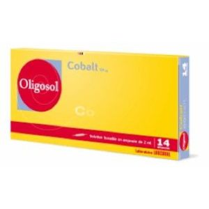 COBALT OLIGOSOL SOLUTION BUVABLE EN AMPOULE B/14