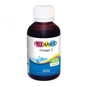 Sirop Pediakid : Oméga 3 DHA Nature / citron-cola - 125 ml