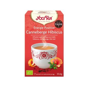 Energie positive canneberge hibiscus BIO - 17 infusettes