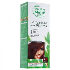 Martine Mahe - Teinture aux Plantes 5 applications 250 ml N°7 Auburn