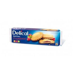 Delical nutra'cake biscuit framboise 3/105g