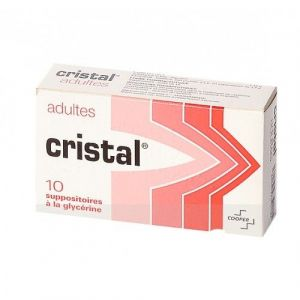 CRISTAL ADULTES suppositoire B/10