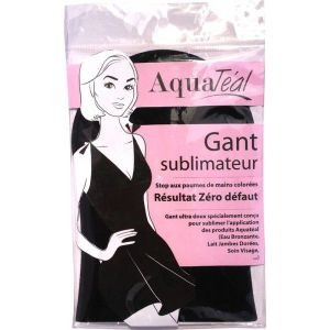 Gant applicateur, pas de coloration des mains