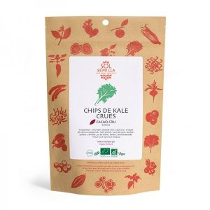 Chips de Kale crues Cacao / Épices BIO - 35 g
