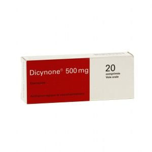 DICYNONE 500 MG COMPRIME B/20
