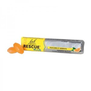Rescue Plus coeurs fondants orange - 10 pastilles