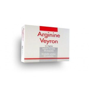 ARGININE VEYRON solution buvable 5 ml en ampoule B/20