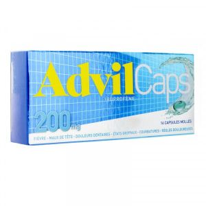 ADVILCAPS 200 mg capsule molle B/16