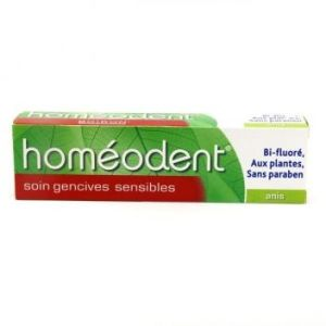 HOMEODENT SOIN GENCIVES SENSIBLES Anis Pâte Dentifrice 75ML